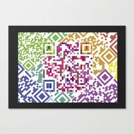 QR codes Canvas Print