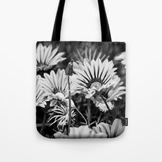 Desert Daisies (bnw) - Daisy Project in memory of Mackenzie Tote Bag