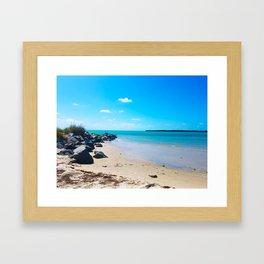 Seashore Serenity Framed Art Print