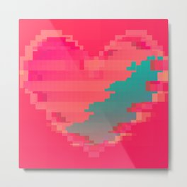 Broken Heart Metal Print