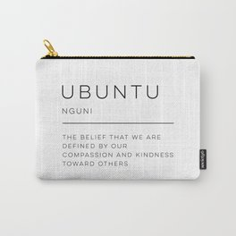 Ubuntu Definition Carry-All Pouch