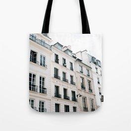 Paris Streets Tote Bag