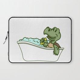 Bathtub turtle Laptop Sleeve