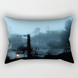Strange Night: Ghost Light Rectangular Pillow