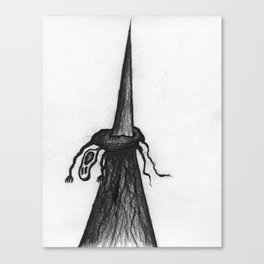 The Punishment Canvas Print