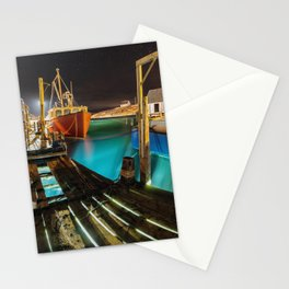 Light in the Wharf Stationery Cards