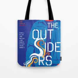 80s TEEN MOVIES :: THE OUTSIDERS Tote Bag