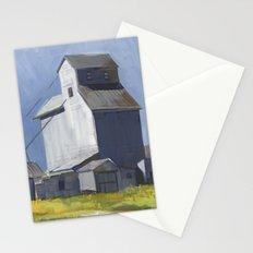 GRANARY, Montana Travel Sketch by Frank-Joseph Stationery Cards