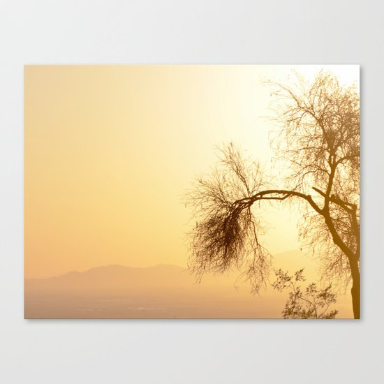 Overawed... Canvas Print