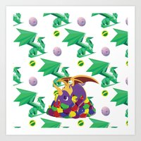 Paws Off Moneybags! Art Print