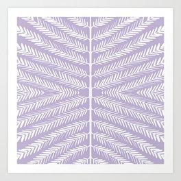 SOFT LAVENDER Art Print