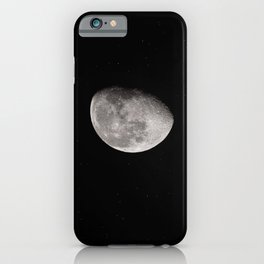 half full moon iPhone Case