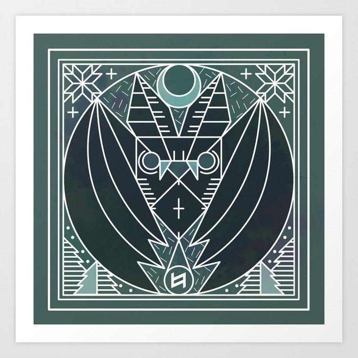 Bat from Transylvania Art Print