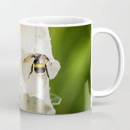 Bumblebee in the campanula Coffee Mug