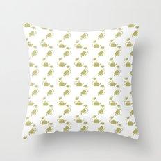 KETTLE PATTERN Throw Pillow