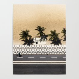 Ipanema From Above Poster