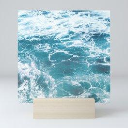 i love the ocean Mini Art Print