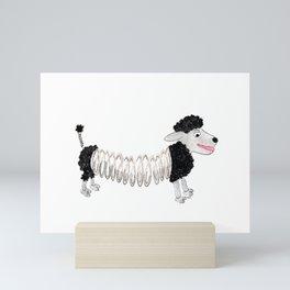Slinky Sheep Mini Art Print