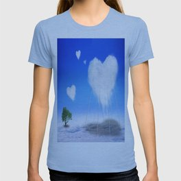 When I feel love, I' d be above the clouds T-shirt