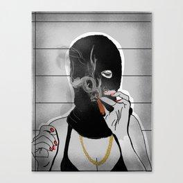 Crime Pays Canvas Print