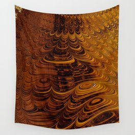 Molten Honey - Fractal Art Wall Tapestry