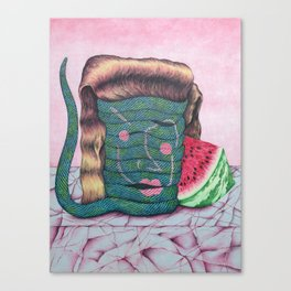 My Date with Deborah Canvas Print
