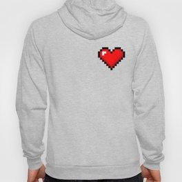 8-Bit Heart Hoody