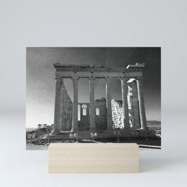 Roman Ruins near the Parthenon, Athens Mini Art Print