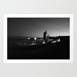 Steady Night Art Print
