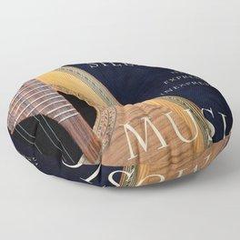 After Silence, Music Floor Pillow