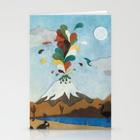 chile Stationery Cards featuring Norte de Chile by i am nito
