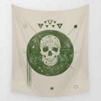 sagittarius Wall Tapestries featuring Sagittarius by Josh Ln