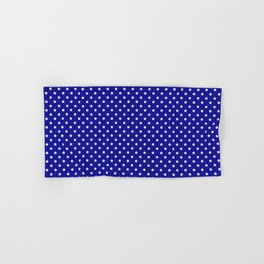 Blue and White Stars Hand & Bath Towel