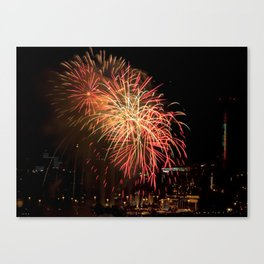 Firework collection 13 Canvas Print