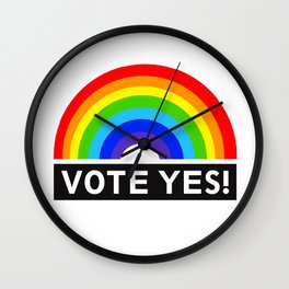 lgbt vote yes Wall Clock