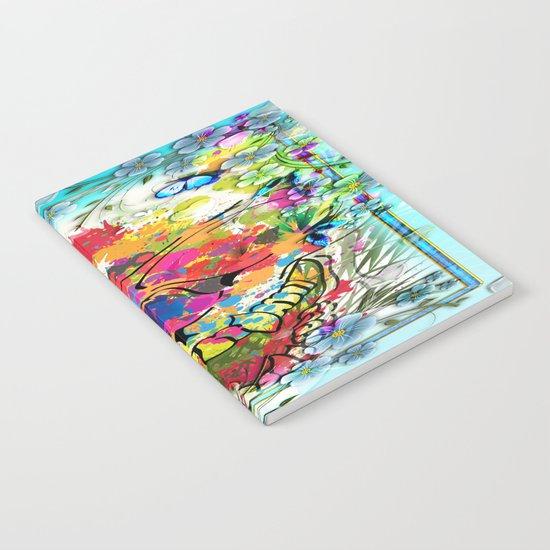 Skull Botonical Notebook