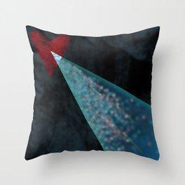 The Air Between Us Throw Pillow