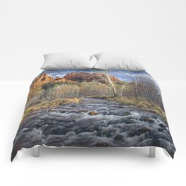 Cathedral Rock in Sedona Arizona Comforters