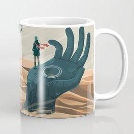 The wanderer and the desert portals Coffee Mug