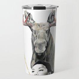 Haida Moose Travel Mug