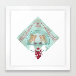 Nautical Surrealism Framed Art Print
