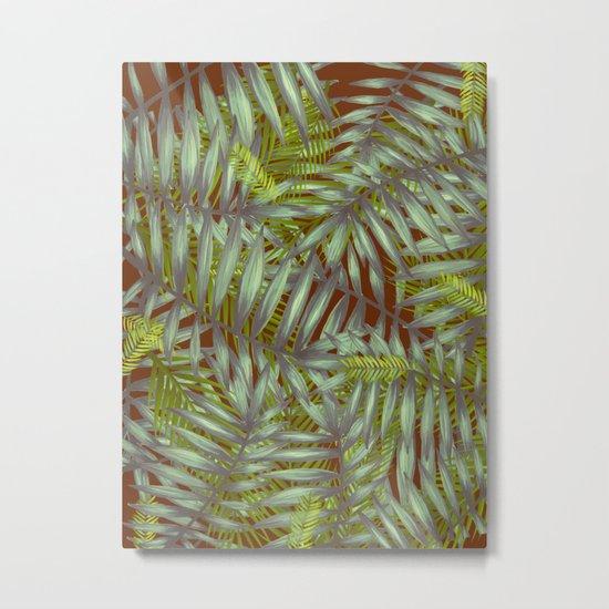 Leaves #1 Metal Print