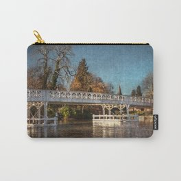 The Toll Bridge At Whitchurch-on-Thames Carry-All Pouch