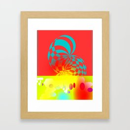 Twisted Invert Framed Art Print