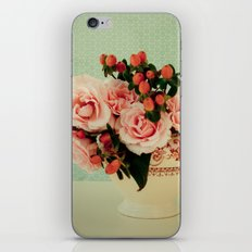 Little Pink Roses iPhone & iPod Skin