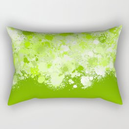 paint splatter on gradient pattern ppi Rectangular Pillow