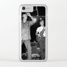 The Nighthawks & Skip Castro band Clear iPhone Case