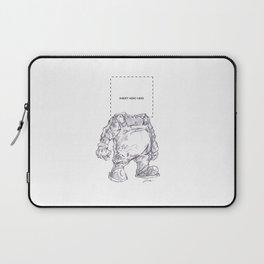 Insert Hero Here Laptop Sleeve