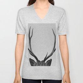 Stag antlers Unisex V-Neck