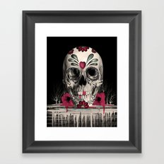Pulled Sugar Framed Art Print